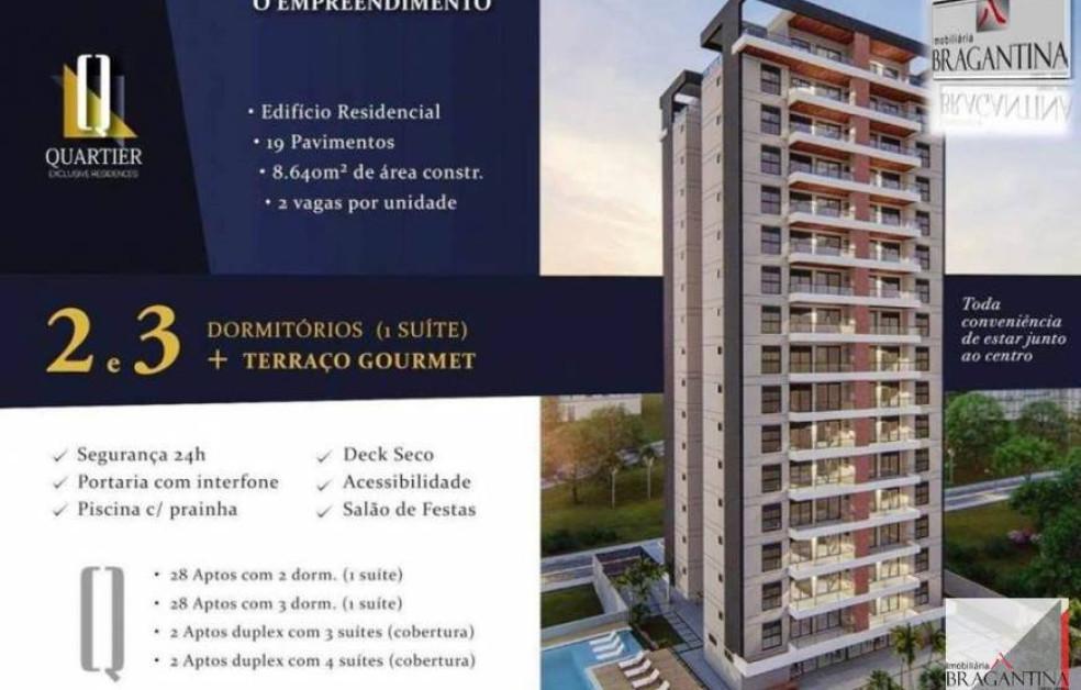 Venda, Apto, Lançamento, Residencial Quartier, Bragança Paulista, SP